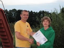 Maximilian Dickow, IDA CMAS Bronze (*), 02.08.2012